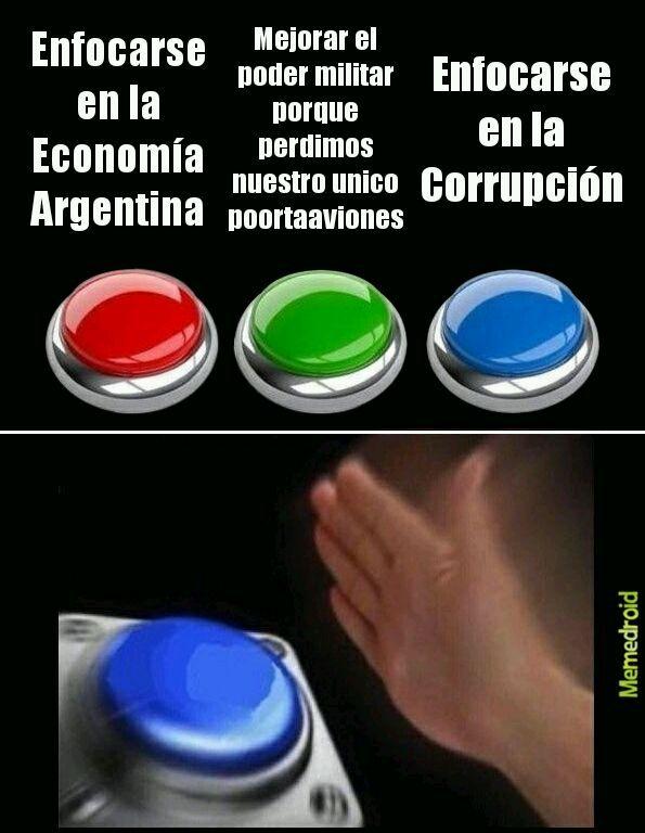 Los politicos en Arg. - meme