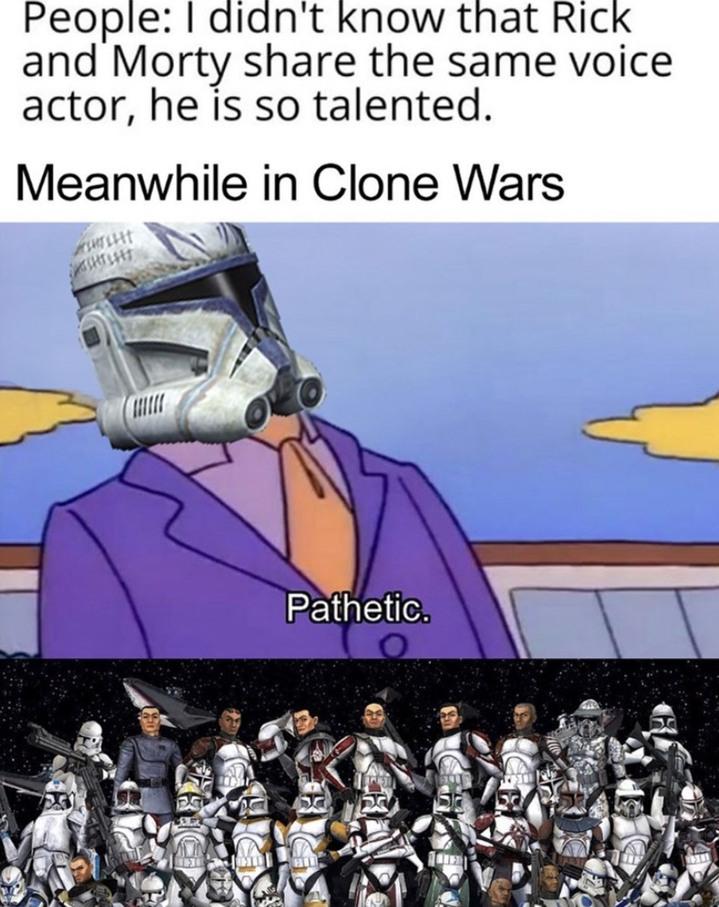 Clone wars season 7 - meme