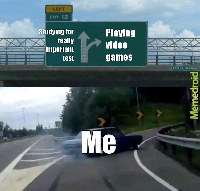 Video games 4 life - meme