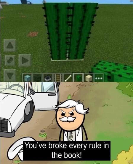 rompe reglas - meme