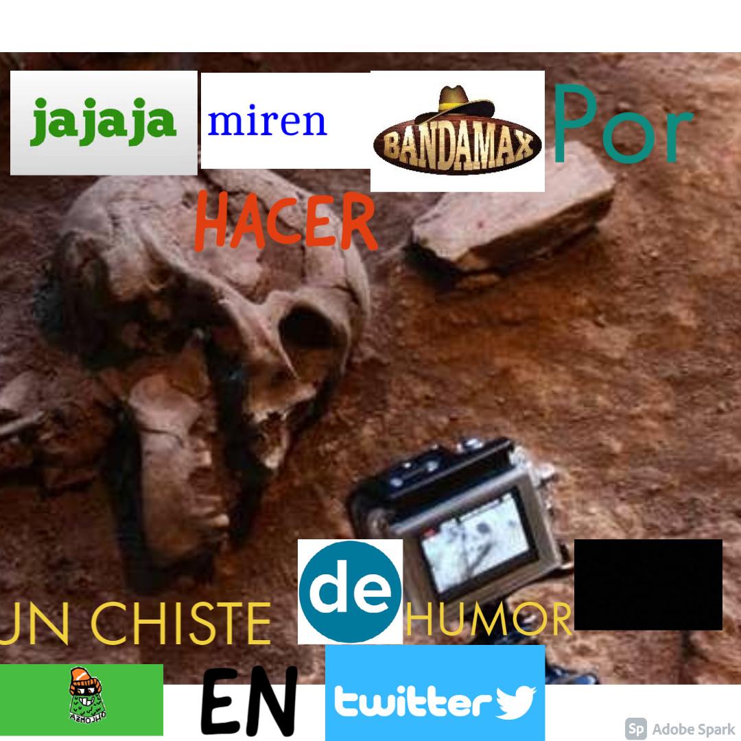 Dice:Jajaja miren Banda por hacer un chiste de humor negro en twitter - meme