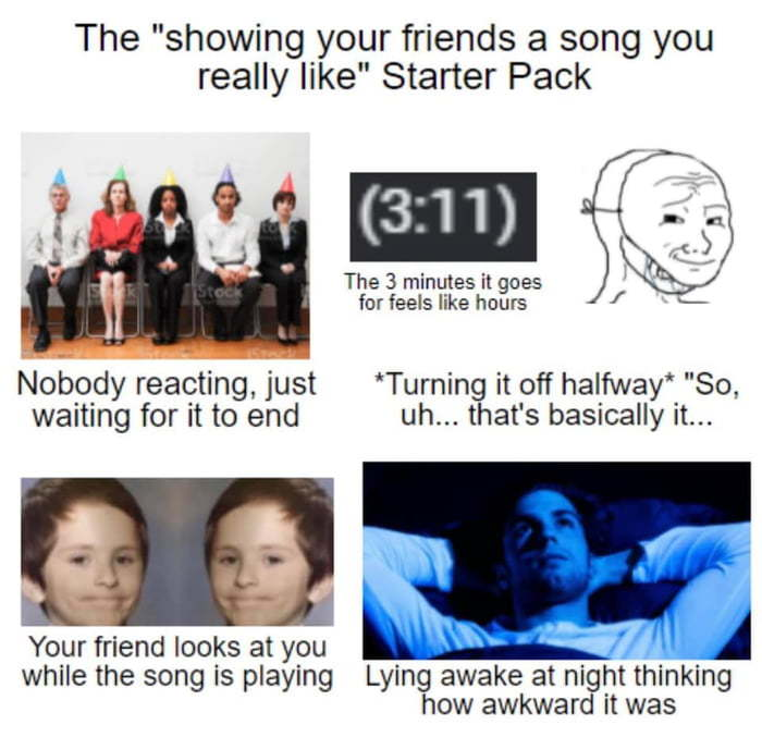 """Listen to this"" starter pack - meme"