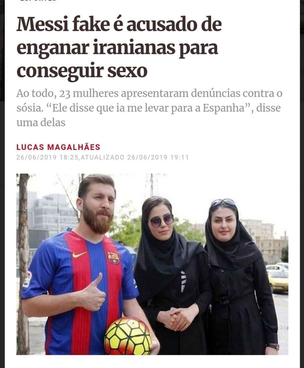 Messi procura sequiçu - meme