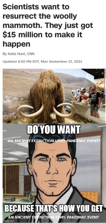 Jurassic pandemic - meme