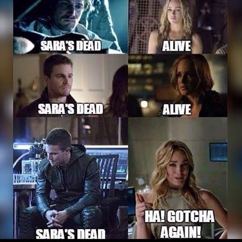 arrow - meme