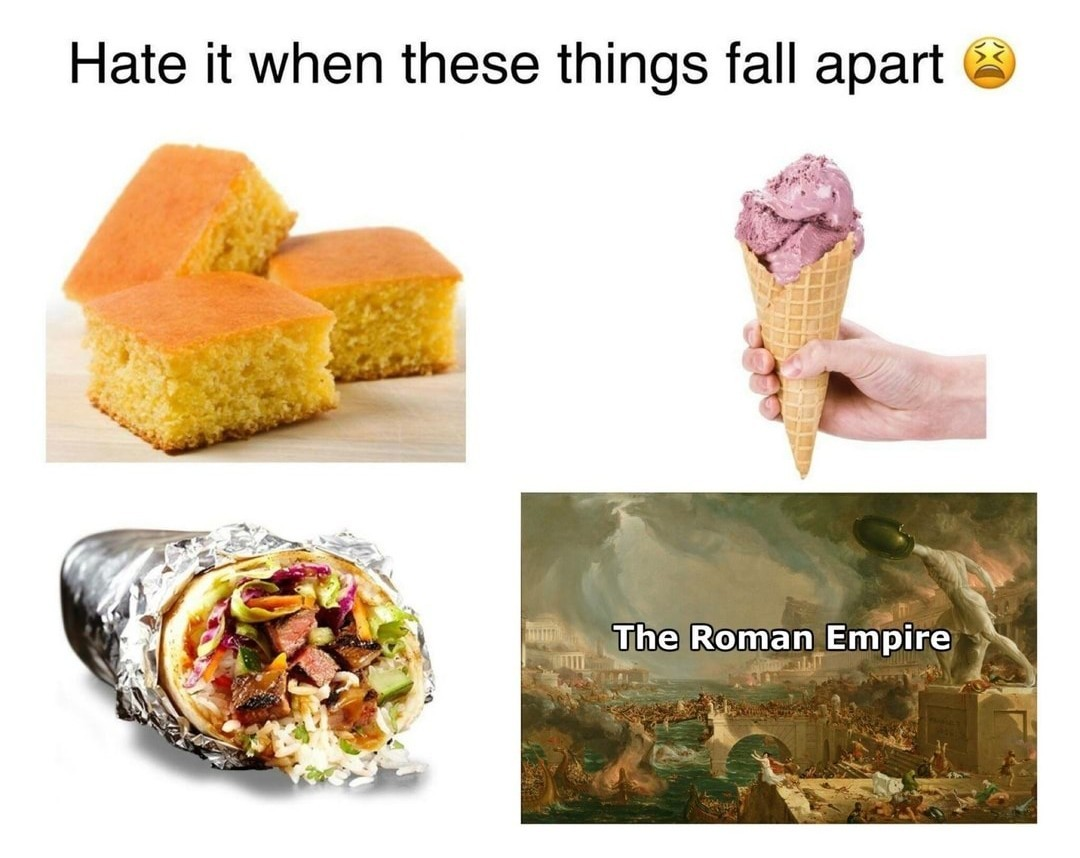 I miss Rome - meme