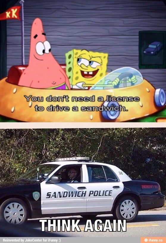 sandwich police boi - meme