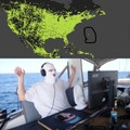 The guy using steam in the Atlantic