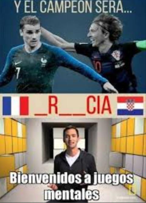 Francia o Croacia - meme
