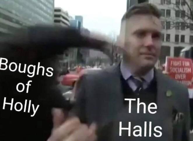 punch Nazis - meme