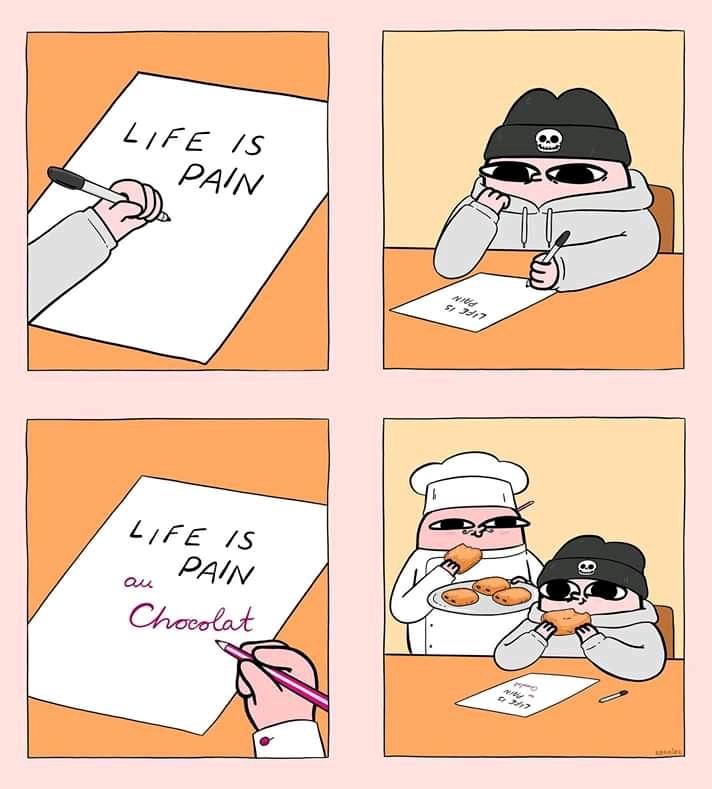 Pain au chocolat. - meme