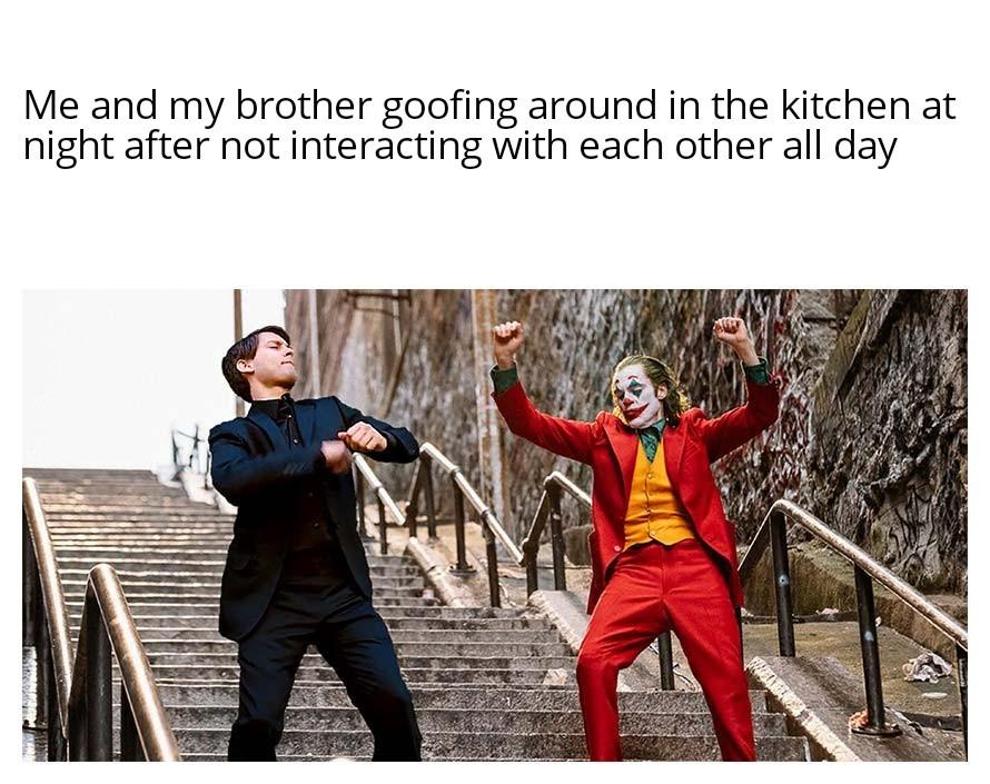 The relationship between siblings is sacred. - meme