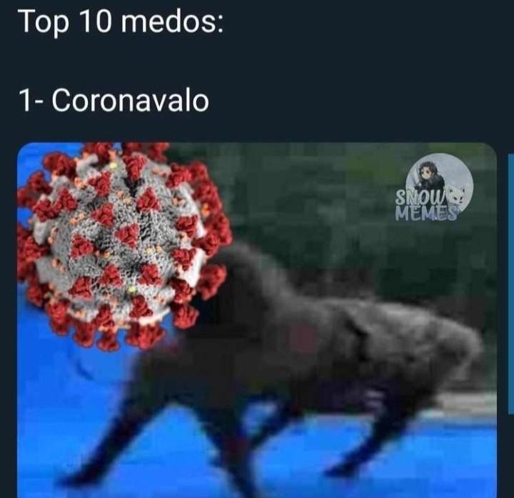 Coronavalo - meme