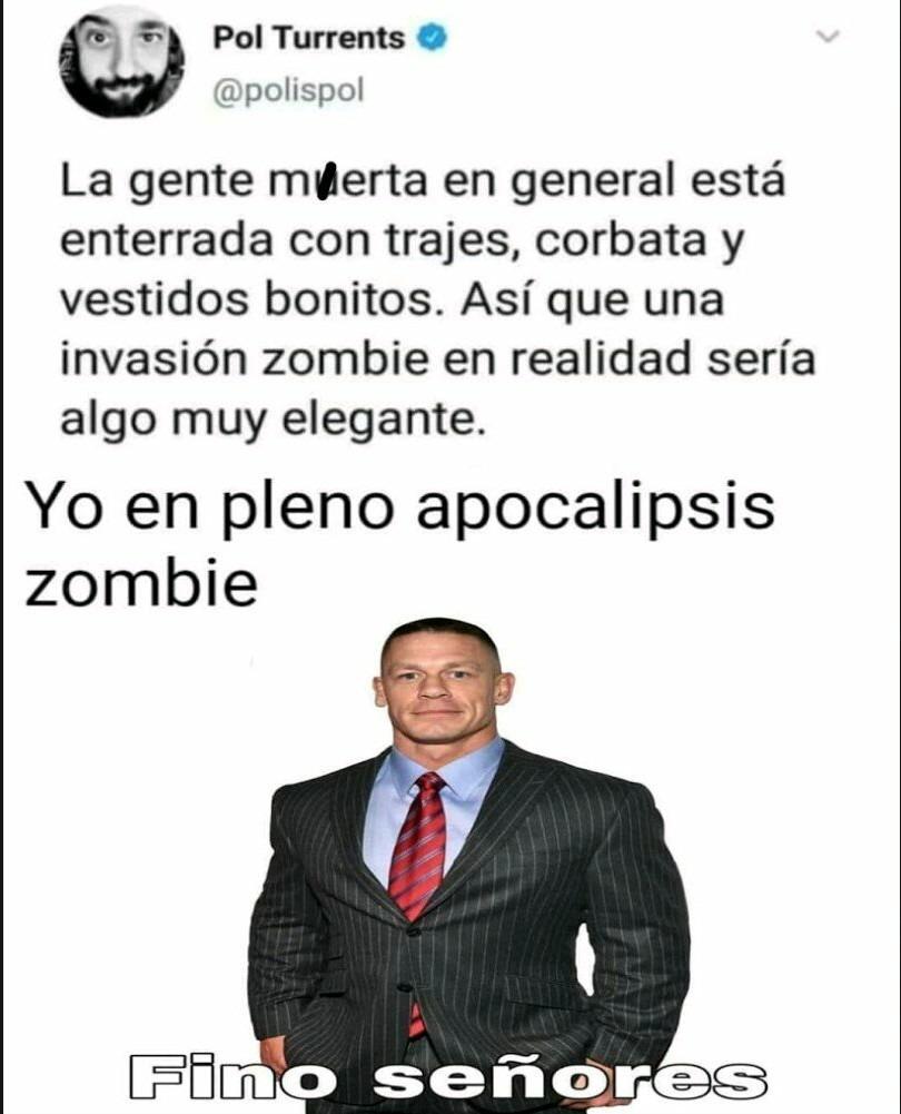 Los zombis de pvz - meme
