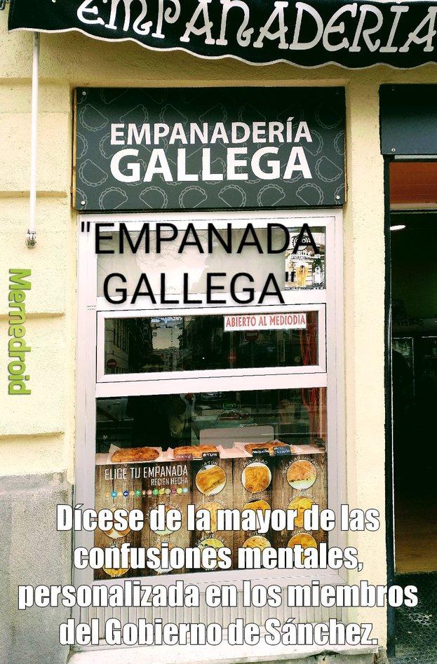 Empanada gallega - meme