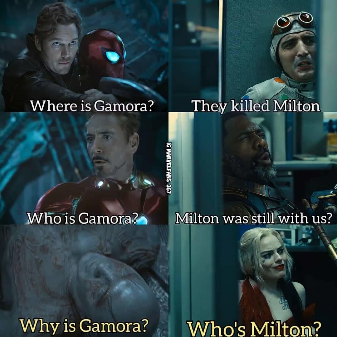 R.i.p Milton - meme