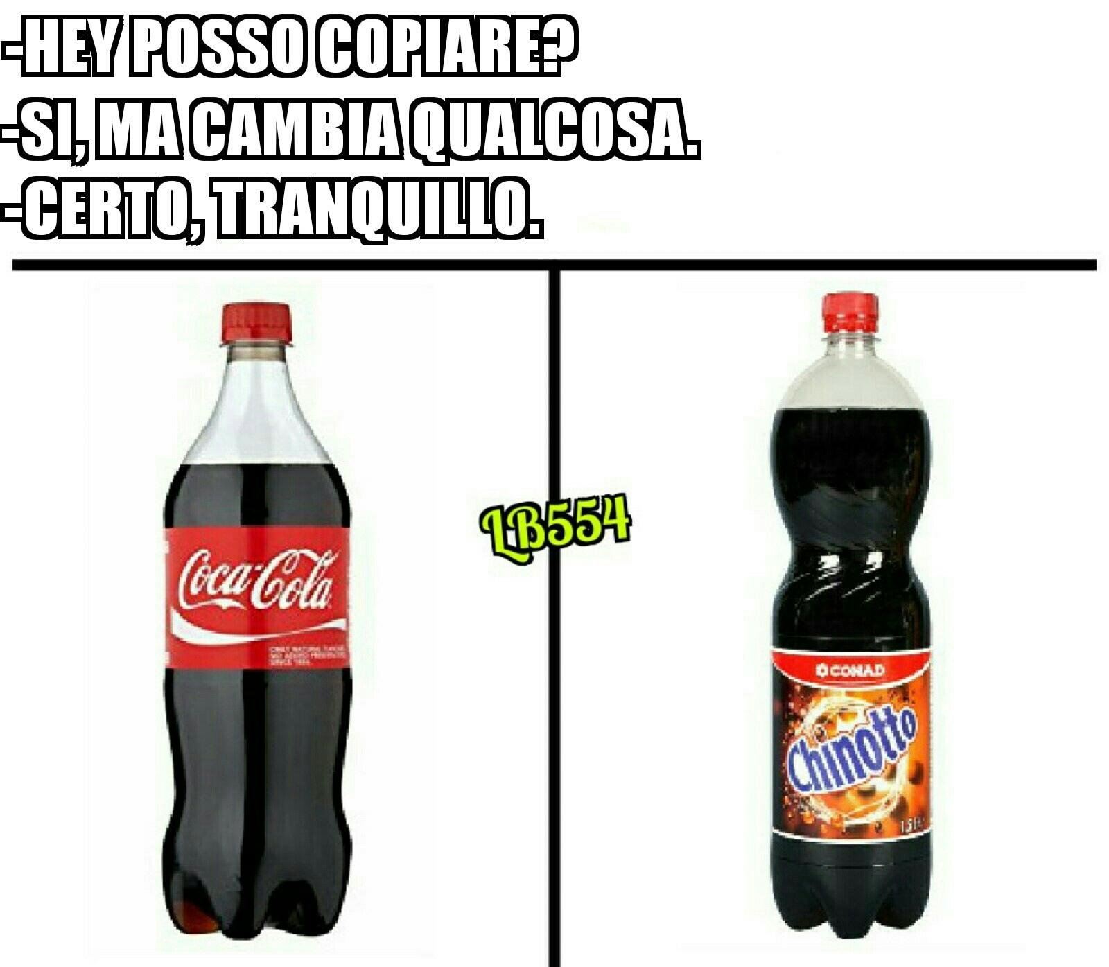 Ormai sono 4 anni che non bevo coca - meme