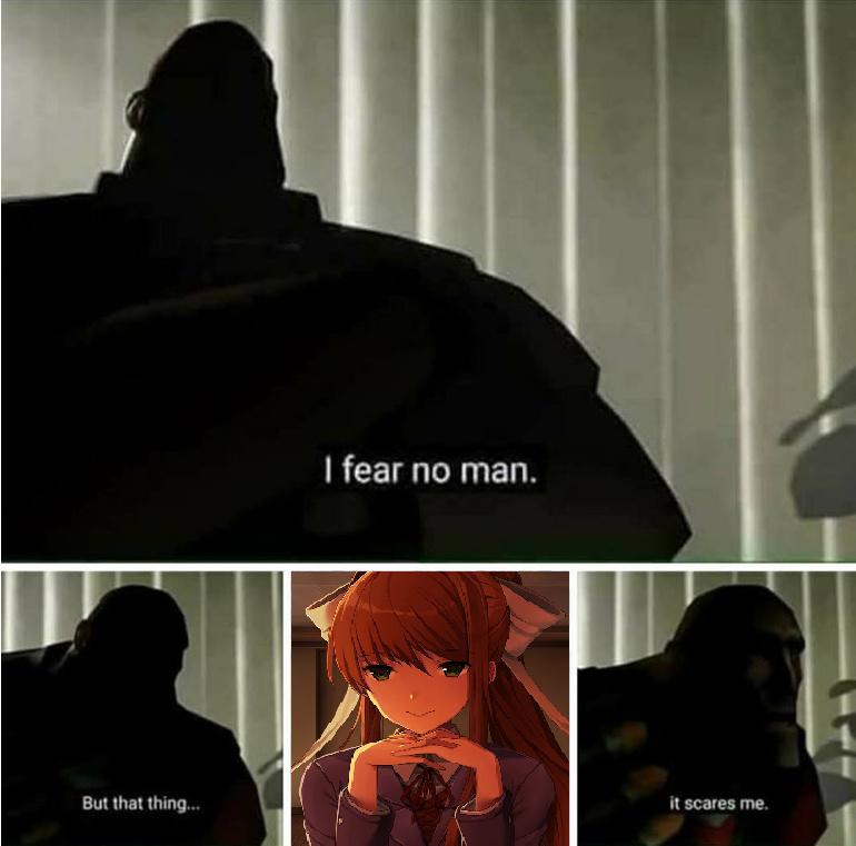 Monika ♡ - meme
