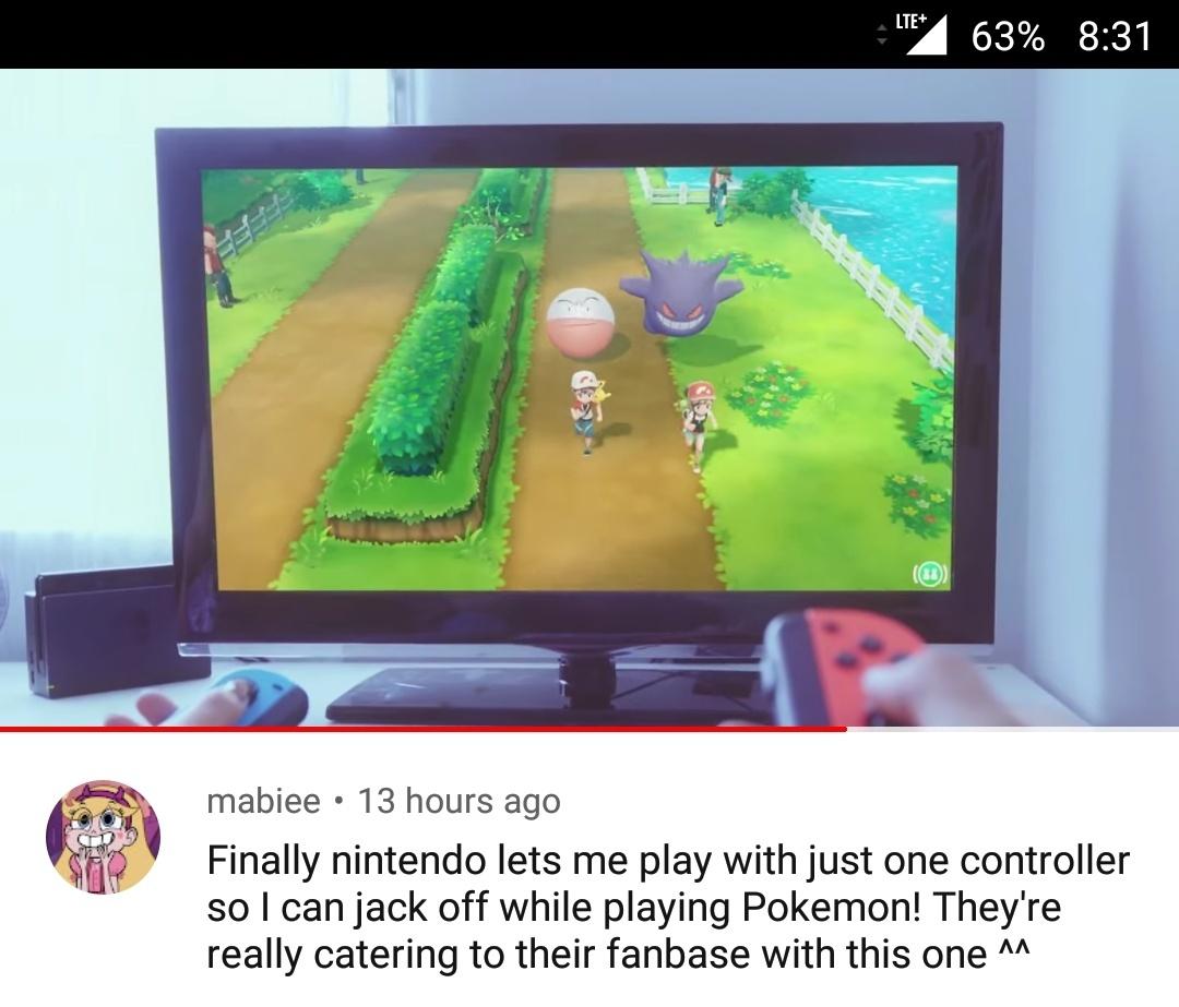 Pokémon: Let's Go, Jack Off! - meme