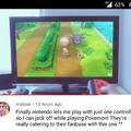 Pokémon: Let's Go, Jack Off!