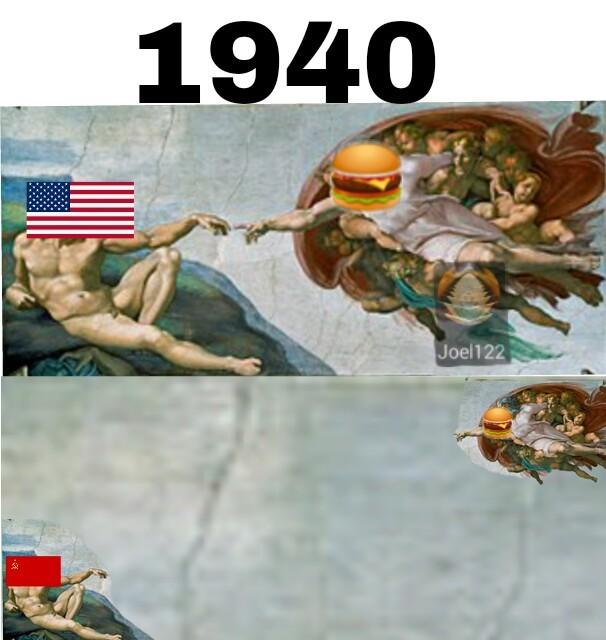 Estas hamburgesas - meme