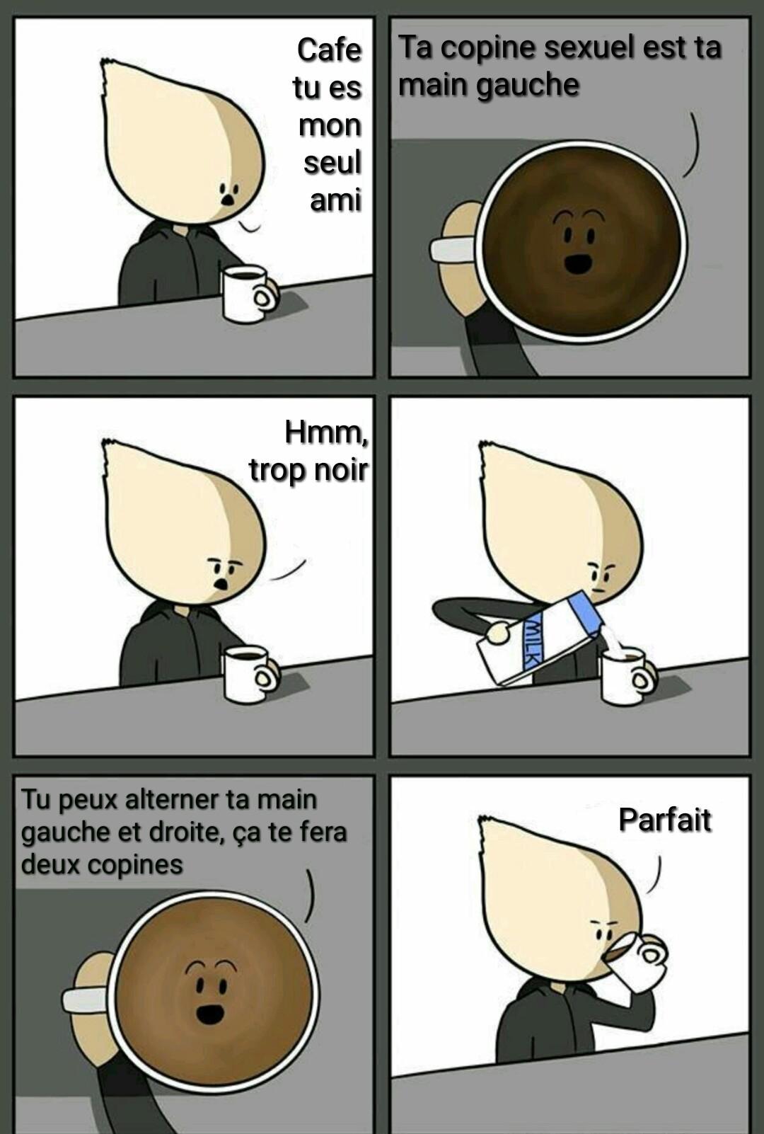Le lait, c'est cool - meme