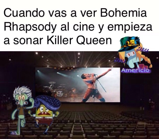 she's a killer Queeeeen - meme