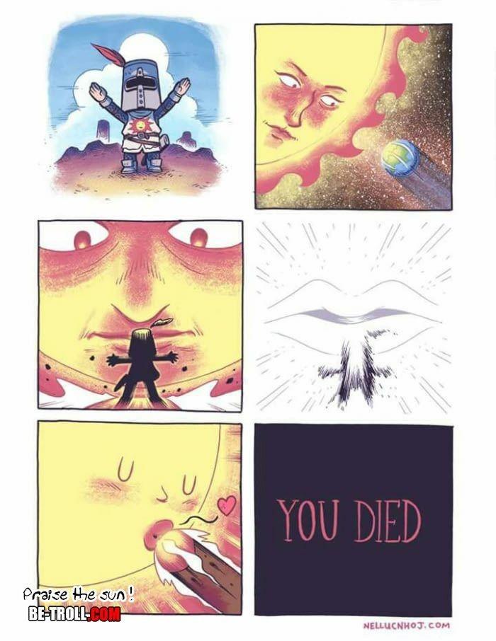 ... fuck The sun - meme