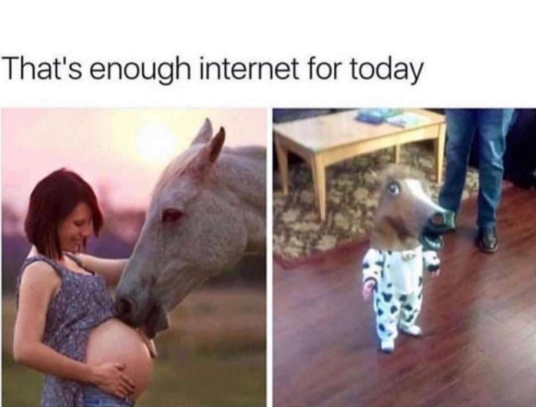 Enough - meme