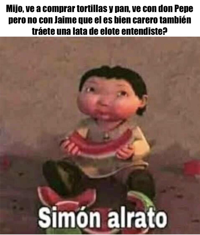 Simon alrato - meme