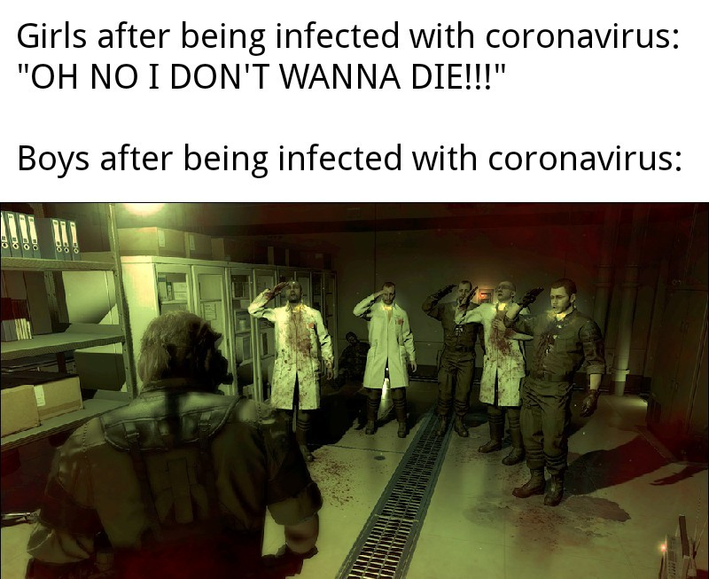 My poor attempt at the virus meme