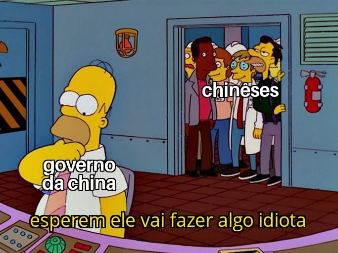 O governo da China e uma bosta - meme