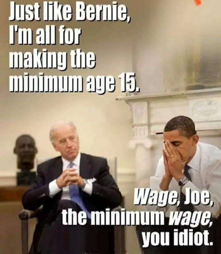 Biden doesn't stand a chance - meme