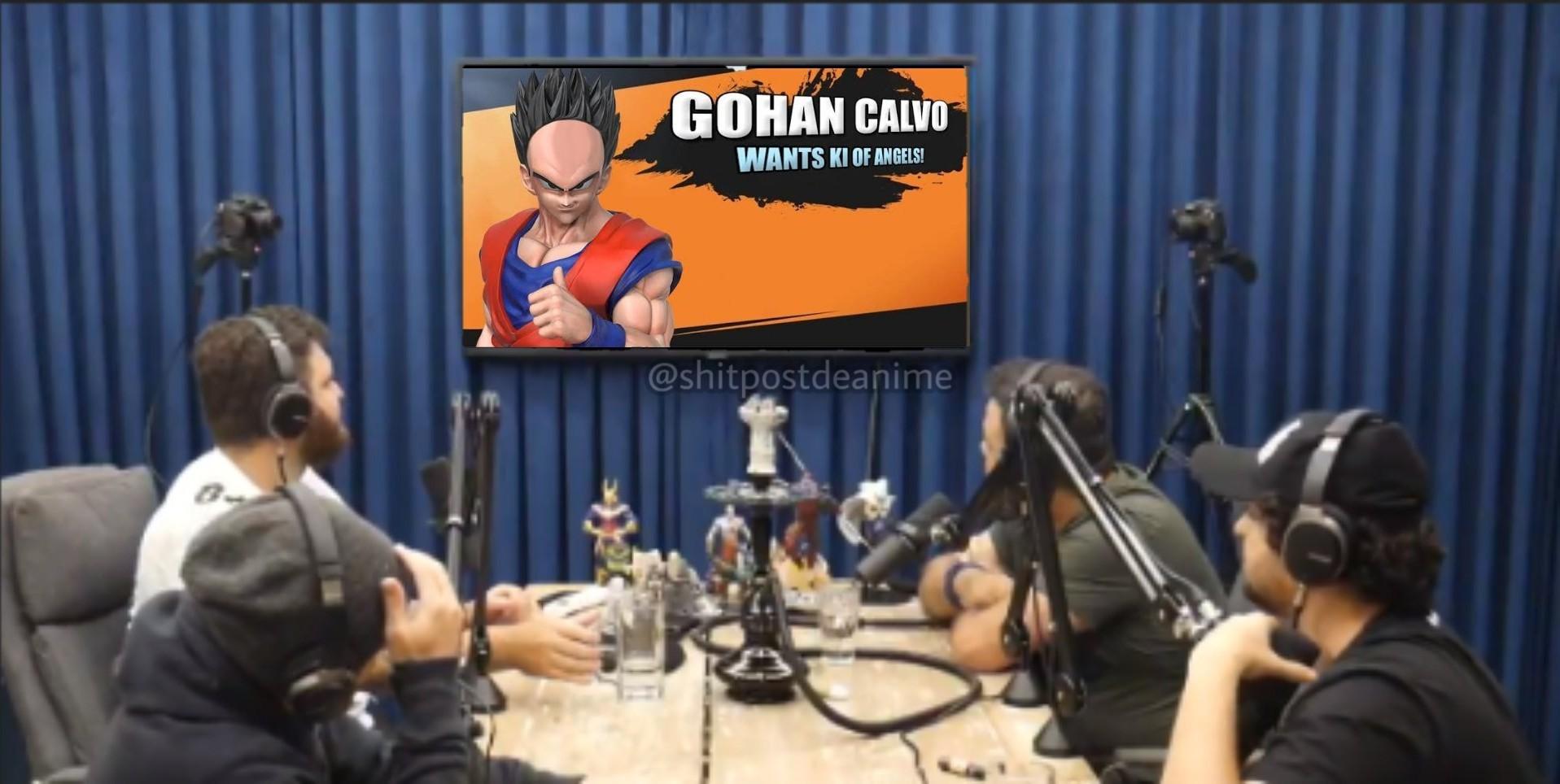 Gohan calvo - meme