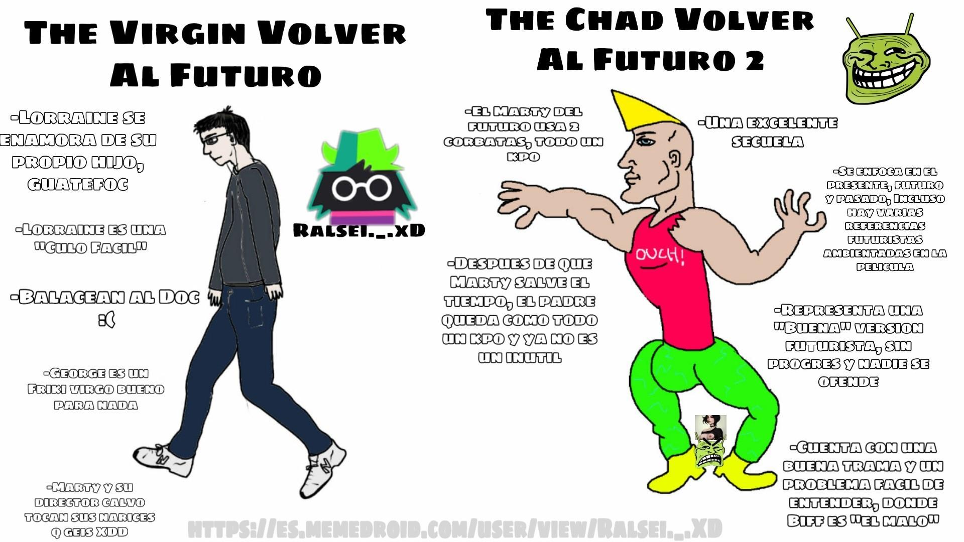 Cual es su peli favorita?, Hay un easter egg debajo de Chad XD - meme