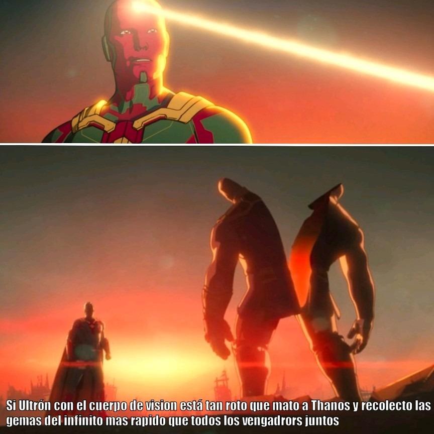 Ultrón está Ultra roto - meme