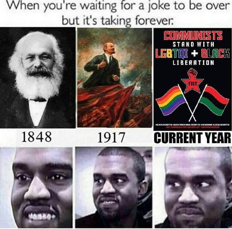 The joke continues - meme