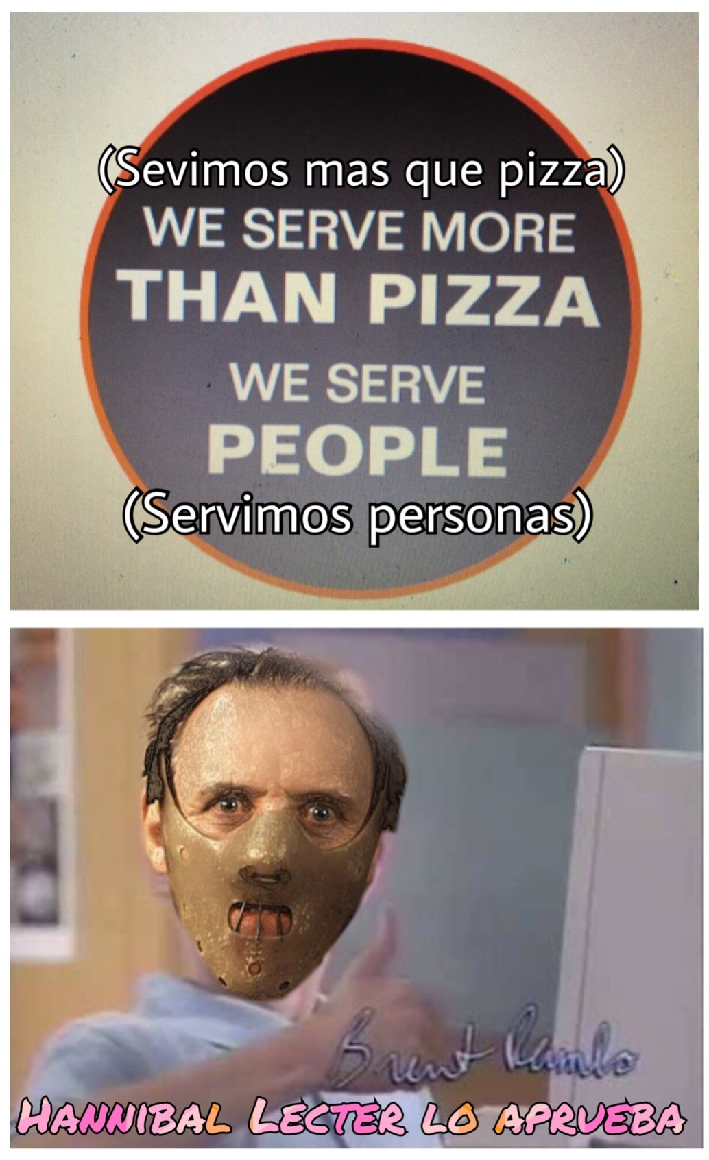 Estos Canibales - meme