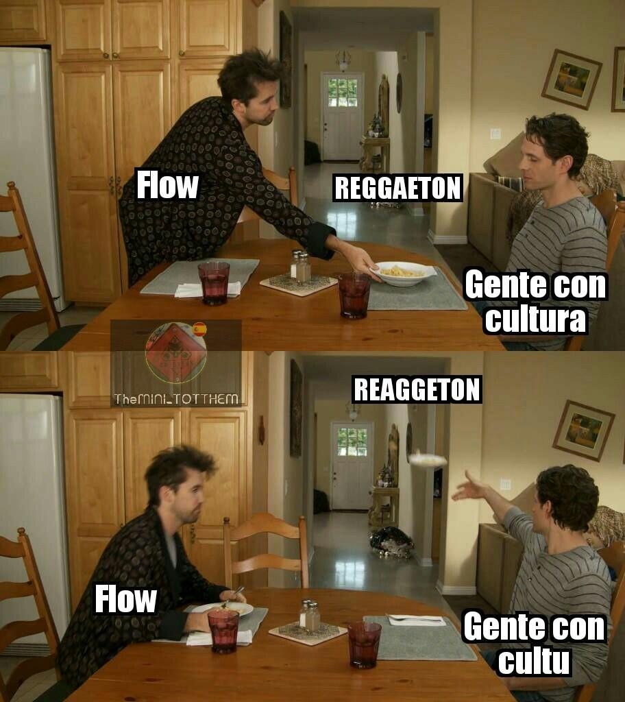 Flow es el modo aleatorio de música de Deezer - meme