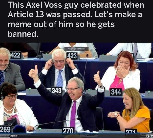 Eu guys, sharing is caring - meme