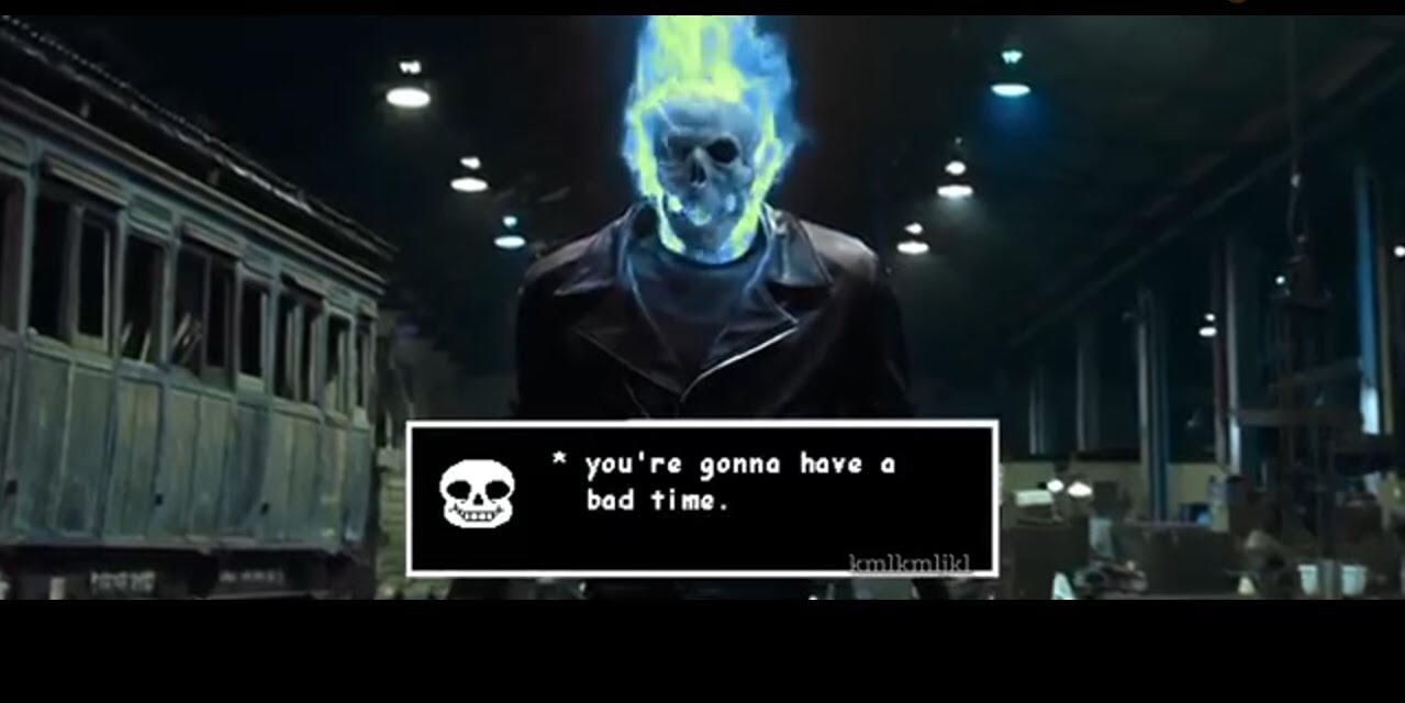 Your gonna have a bad time - meme