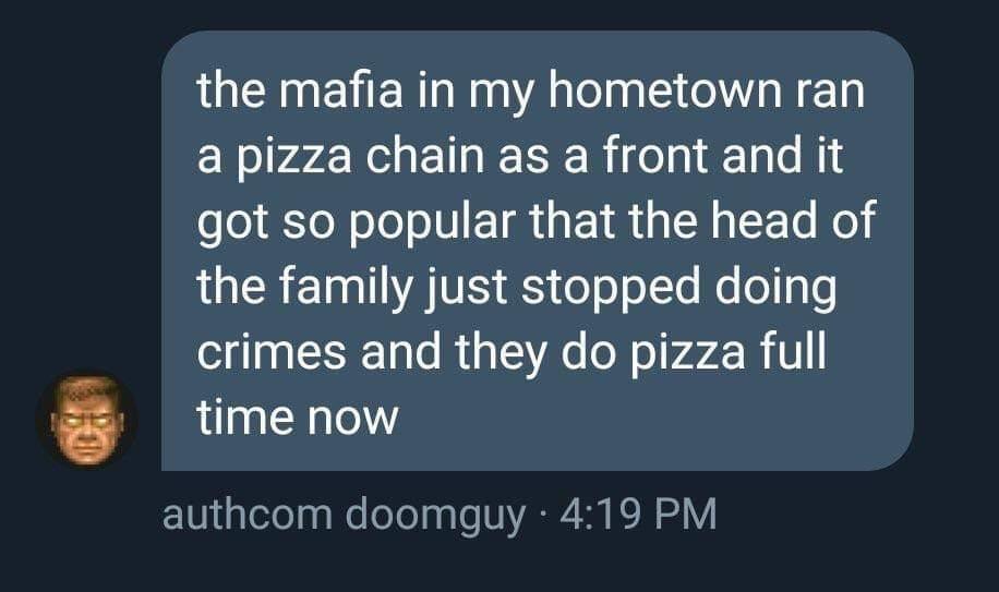 Doing crime the right way - meme