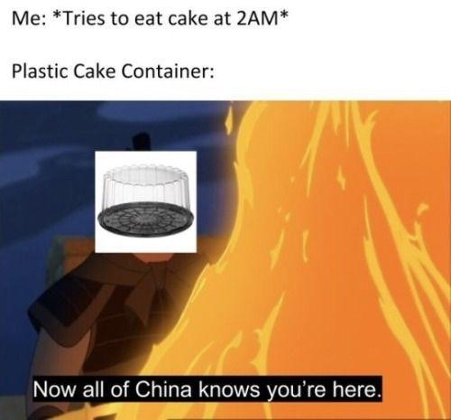 Mmmm cake - meme