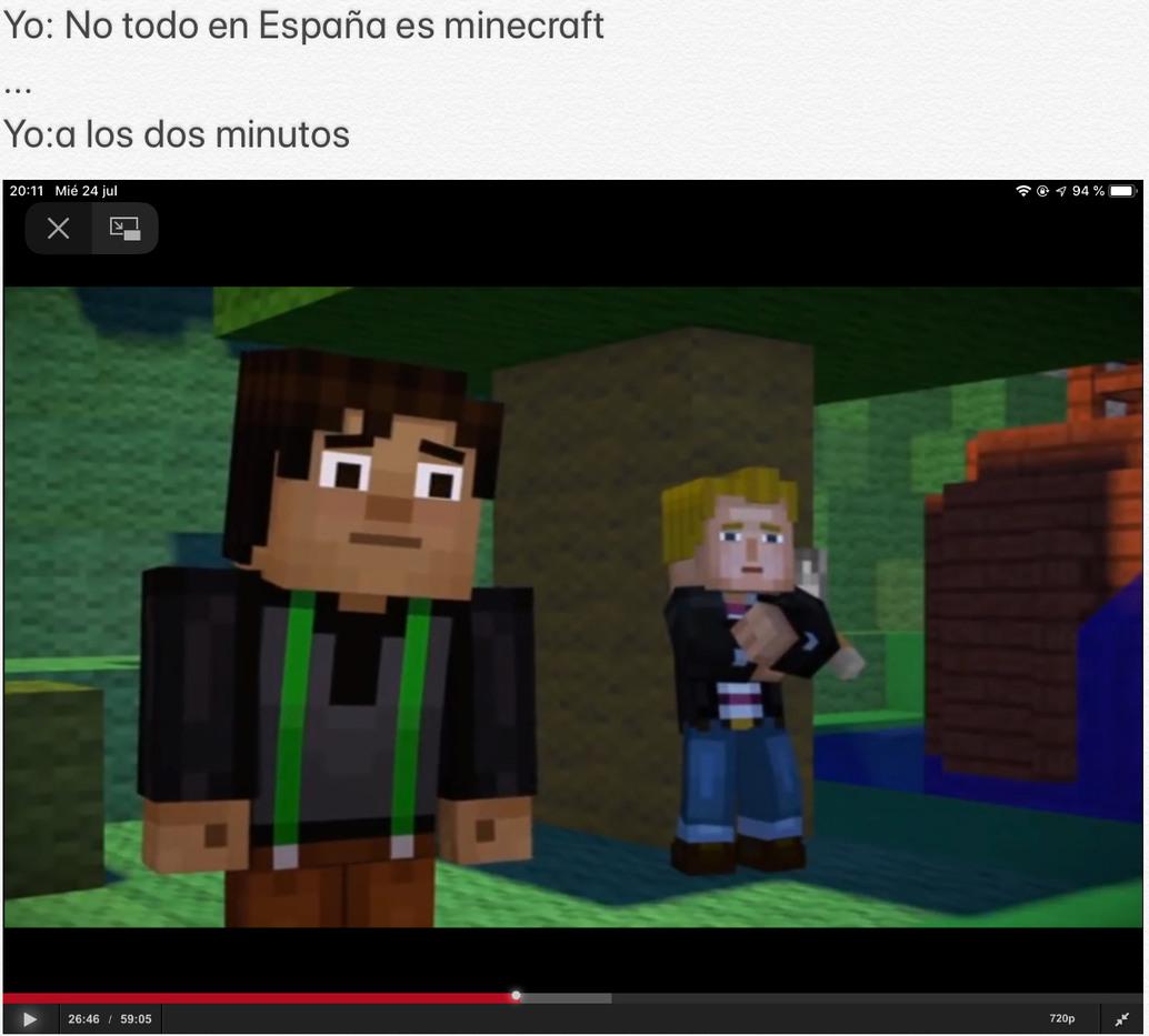 Minecraft story mode bb - meme