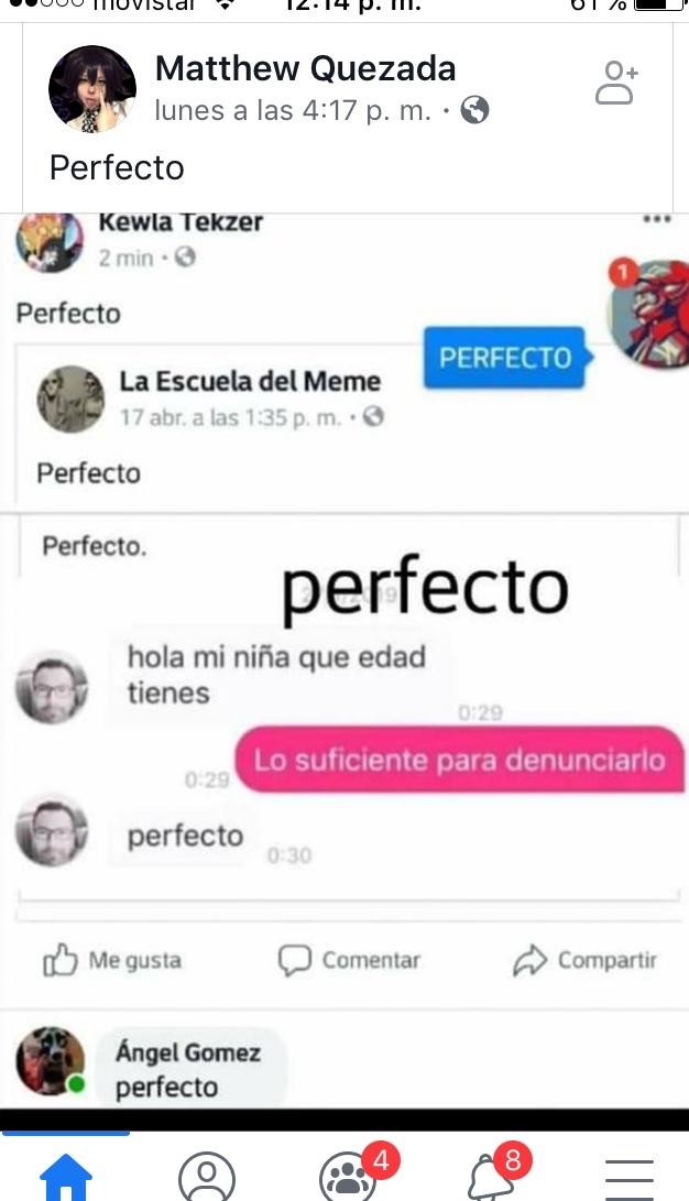 Perfecto - meme
