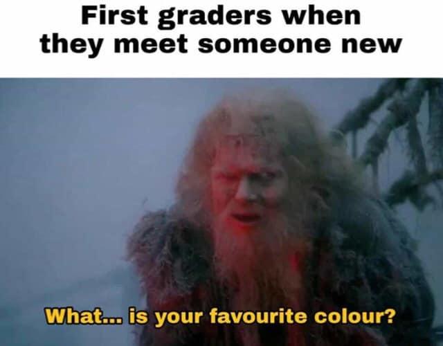Green - meme