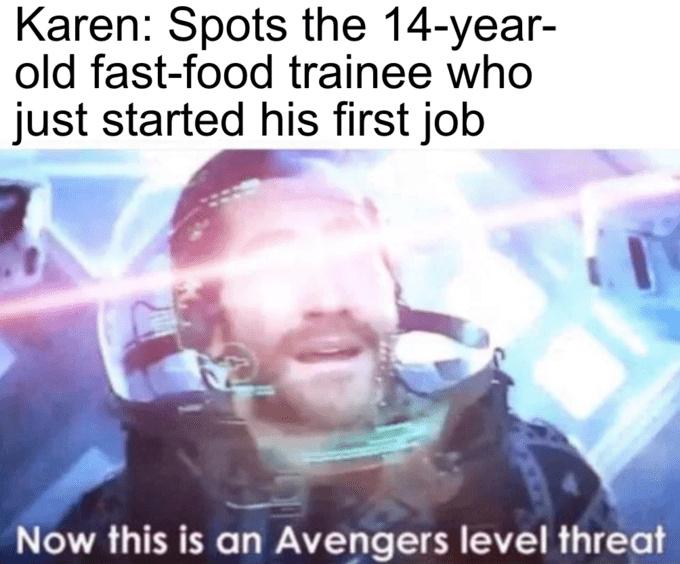 Dead Karen meme