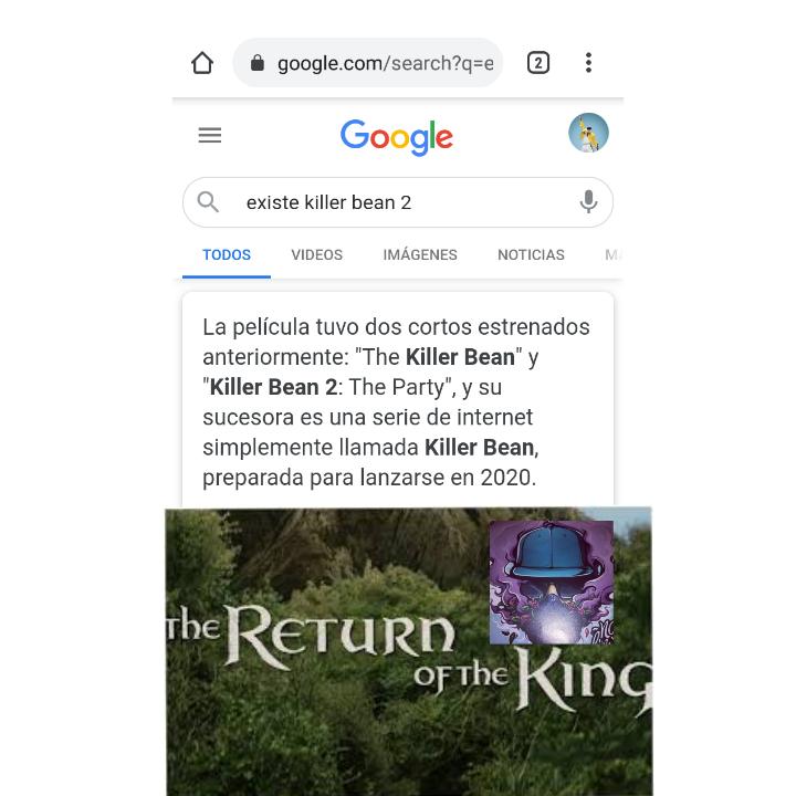 El regreso de el rey - meme