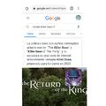 El regreso de el rey