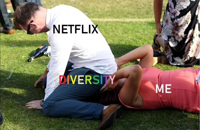 When you want something to watch from Netflix - meme